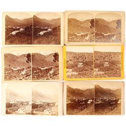 Nice Manitou CO Stereoviews (6 count)   (53229)