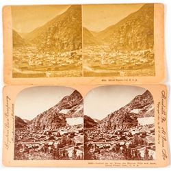 Silver Plume CO Stereoviews (2 count)   (53243)