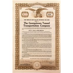 Georgetown Tunnel Transportation Company Bond   (52314)