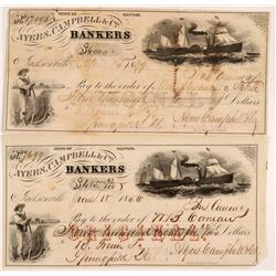 Ayers, Campbell & Co. Bankers Exchanges (2)   (106501)