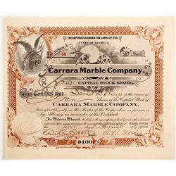 Carrara Marble Co   (87204)
