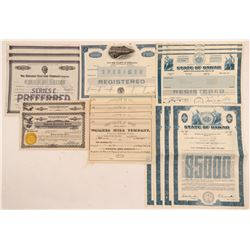Hawaii State Bonds & Stock Certificates   (107284)