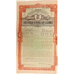 School Bonds / Public Schools of Calumet.   (105036)
