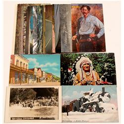 Post Cards / Western & Nature /  19 items   (105382)