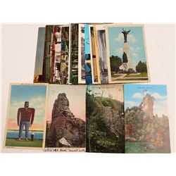 Postcards / Monuments & Churches / 20 pieces.   (105384)