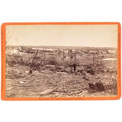 Photograph of Sauk Rapids Cyclone Wreckage - Killing 72!   (53466)