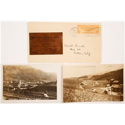 Montana Mining RPC's and 1 Cover With Copper Foil   (52552)