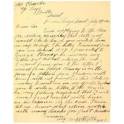 Prisoner Letter: Writing to Ask for Clemency   (46653)