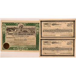 Nevada Land and Lake Certificates   (104010)