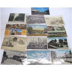 New Mexico Town Views - Postcards   (54007)