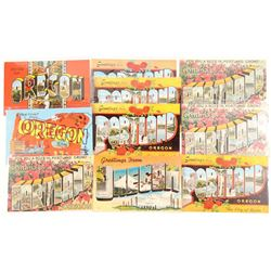 Oregon Large Letter Postcards   (103264)