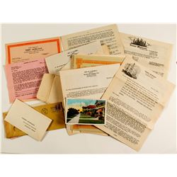 World Oil Company Stock Certificates and Ephemera   (45462)