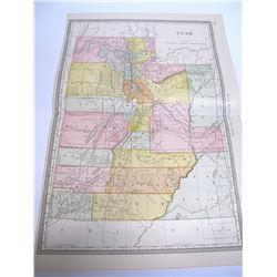 Utah Map   (54462)