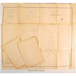 Maps of Washington & Oregon   (54253)