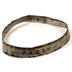 Pabst Beer Steel Hoop   (43428)