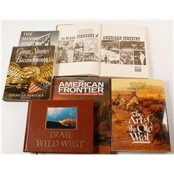 American West Books (6)   (55778)