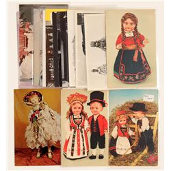 Antique Doll Postcards   (103268)