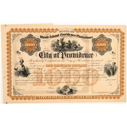 City of Providence $1,000 bond    (106323)