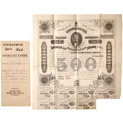 Confederate Bond Act of Congress    (83561)