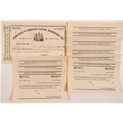Early Turnpike Company Stock Certificates   (104264)