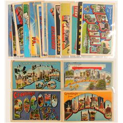 Eastern US Large Letter Postcards   (103267)
