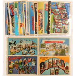 Eastern US Large Letter Postcards   (103267)