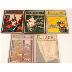 Fortune Magazines of the Early 1930's   (106562)