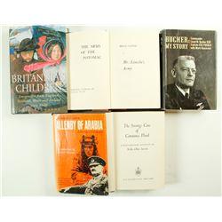 Hardcover Books (5)   (87103)