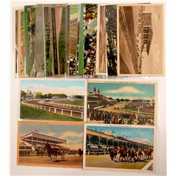 Horse Racing Postcards   (104977)