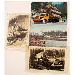 Logging Postcards   (105352)