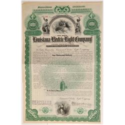 Louisiana Electric Light Company bond   (106440)