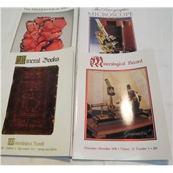 Microscopes & Mineral Books (4 Books)   (84469)