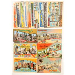 Midwest Large Letter Postcards   (104967)