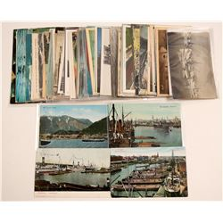 Sailing Ships & Freighters Postcards   (105298)