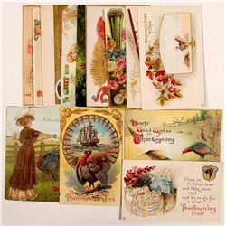 Thanksgiving Postcards   (104617)