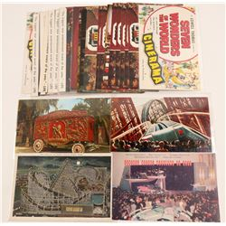 Theme Park Postcards   (105350)