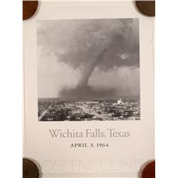 Tornado of Wichita Falls Texas Poster   (91361)
