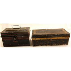 Two Tin Boxes   (88205)