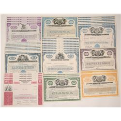 US Stock Certificates   (106017)