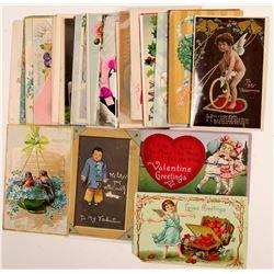 Valentine Postcards   (104615)