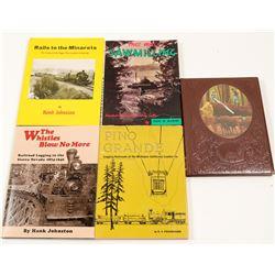 Western Logging Books (5)   (106380)