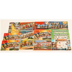 Western US Large Letter Postcards   (104968)