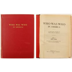 Who Was Who in America by Marquis, 1897-1942   (76541)