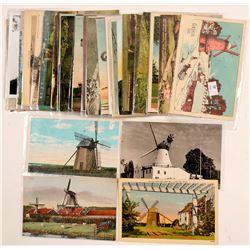 Wind Mills Postcards   (104975)