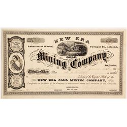 New Era Gold Mining Company Stock   (88014)