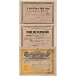 Needles, California Mining Stock Certificates   (107125)