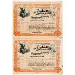 Isabella Mining Company Stocks   (104026)