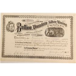 Bullion Mountain Silver Company of Colorado Stock   (85225)