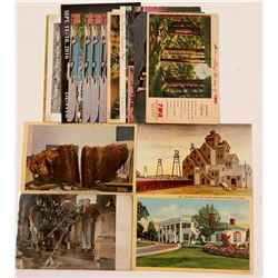 Post Cards / Mining & Miscellaneous / 18 Items.   (105387)