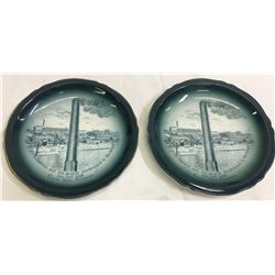 Boston & Montana Smelter Decorative Plates   (87401)